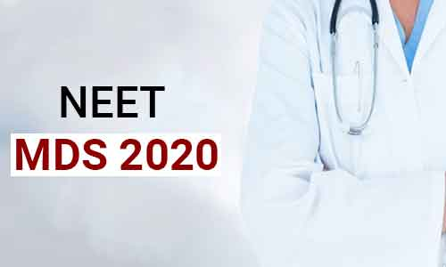 NBE releases NEET MDS 2020 Results For 50 Per Cent All India Quota Seats; View Here