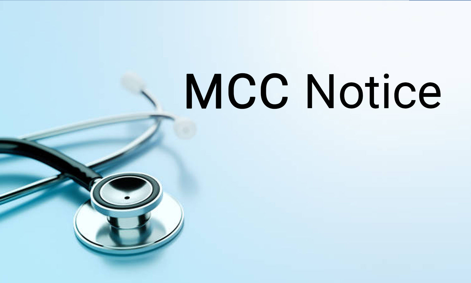 MBBS, BDS from IP university colleges can participate AIQ counselling: MCC issues notice