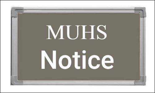 Fellowship, Certificate Courses 2019-20 At MUHS: Schedule for 2nd, Mop Up Rounds Released