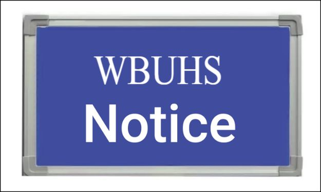 WBUHS issues notice for PhD scholars admitting batch 2019 to submit required documents