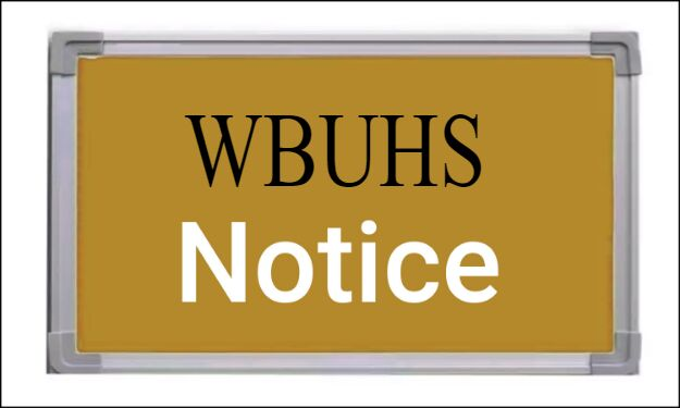 Coronavirus outbreak: WBUHS to remain closed till March 27th