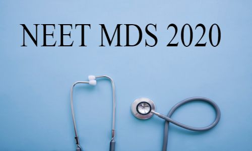 NEET MDS 2020: Check out counselling procedure