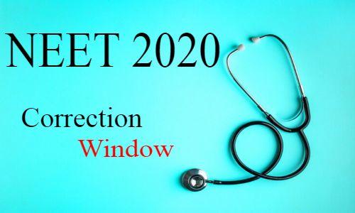NEET 2020 Applications: NTA activates correction window
