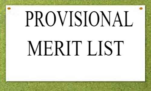 WBUHS publishes Provisional Merit list for Canditates Appearing in MSc MLT Admission test